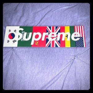 Supreme Special Edition Flag BOGO